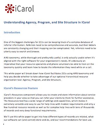 UnderstandingAgencyProgramSiteStructure