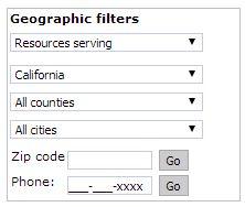 Geo filters
