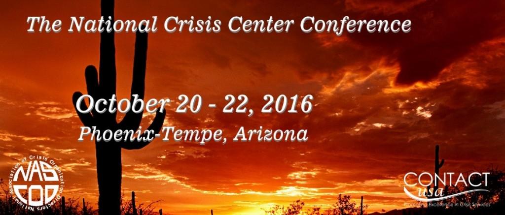 NASCOD CUSA 2016 crisis helpline Conference