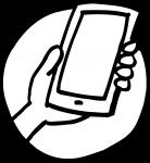Smart Phone being held