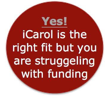 Yes iCarol fits