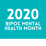 BIPOC mental health month logo