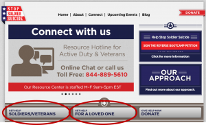 Connect with Stop Soldier Suicide