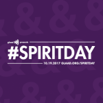 GLAAD Spirit Day Go Purple 2017
