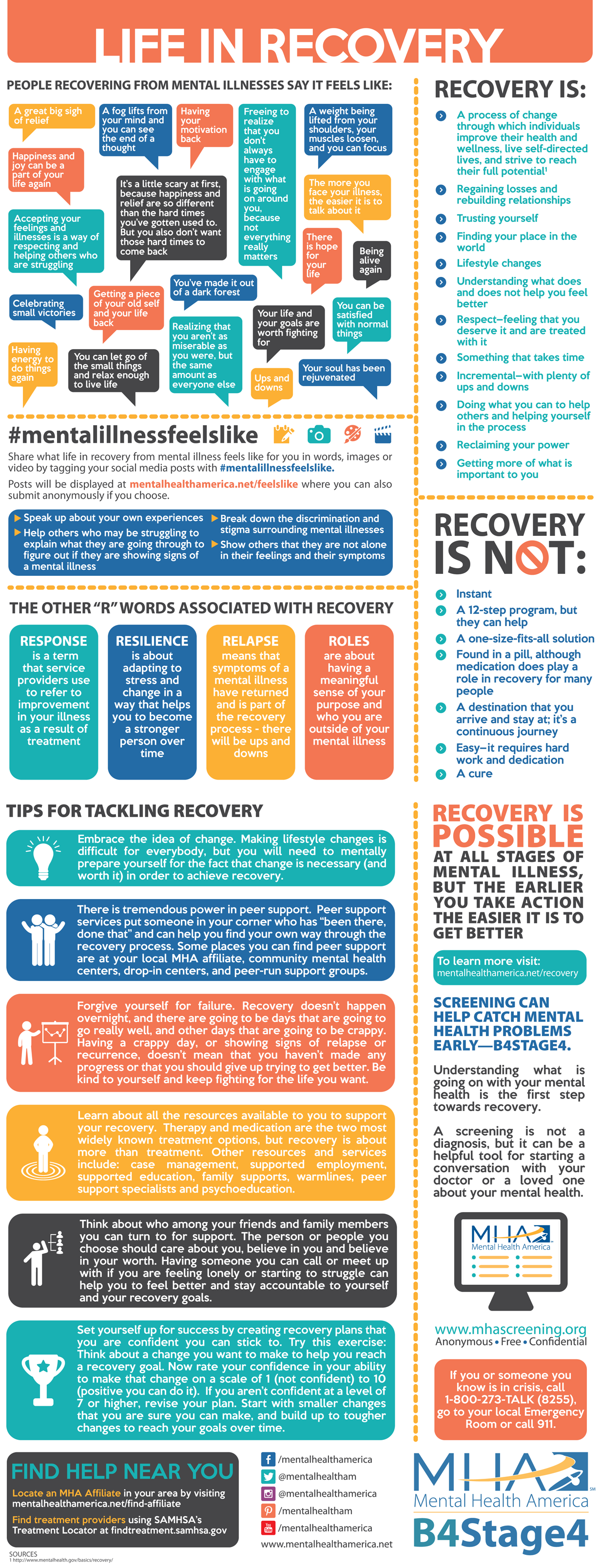 Life in Recovery Fact Sheet