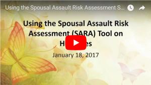 SARA tool webinar