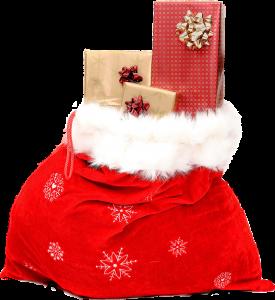 santa claus st nicholas sack bag gifts present