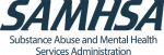 logo for the Substance Abuse and Mental Health Services Administration in the United States