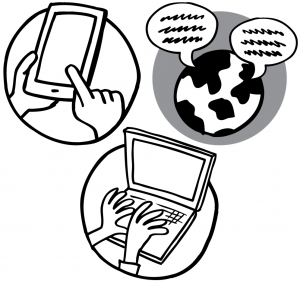 text web chat